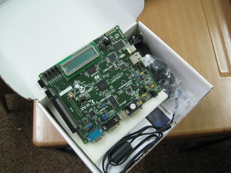 Istraživačka oprema - FPGA ploča