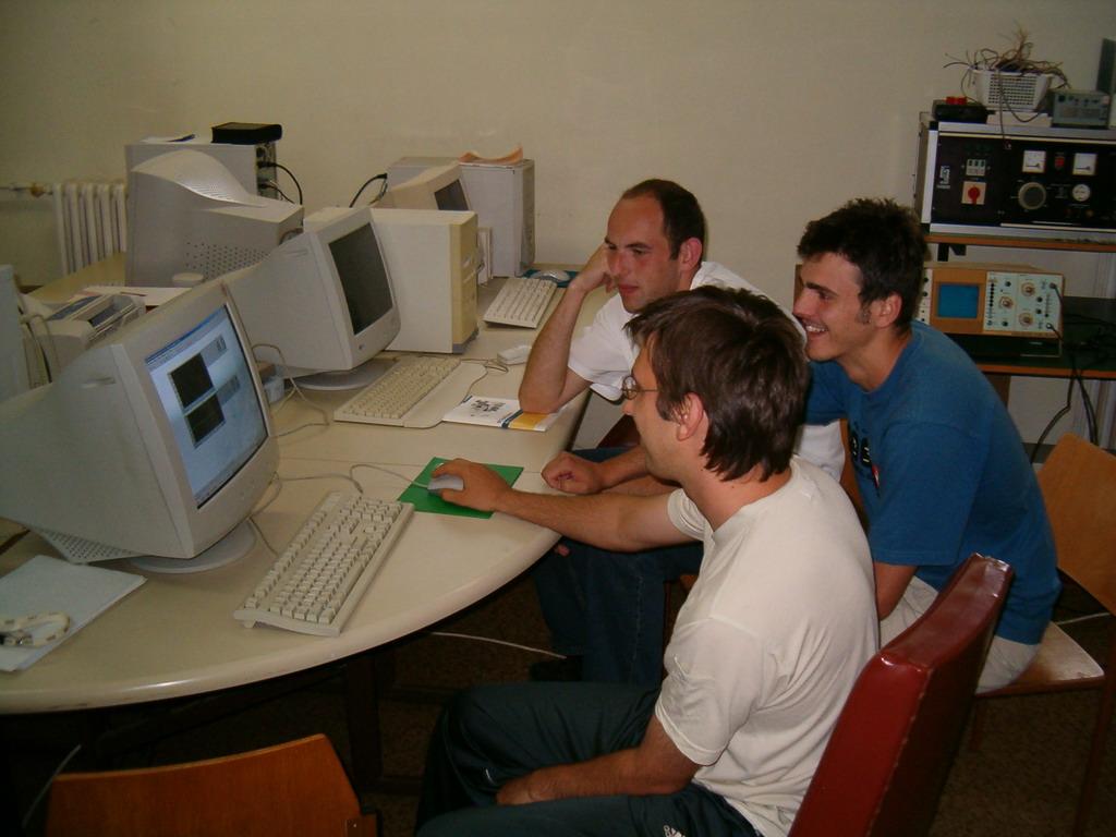 Letnji kamp Računarstva - jul 2005.